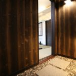 折上天井・焼杉・敷石の家/栃木県栃木市